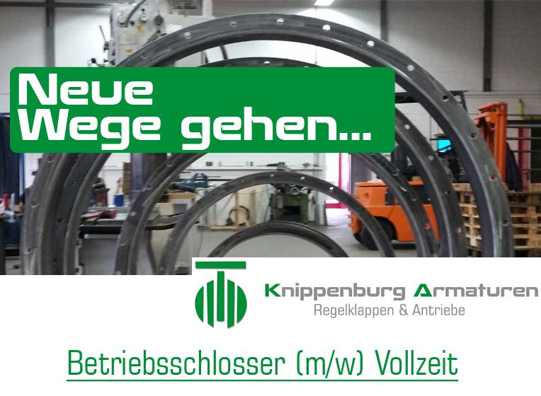 Knippenburg sucht Betriebsschlosser